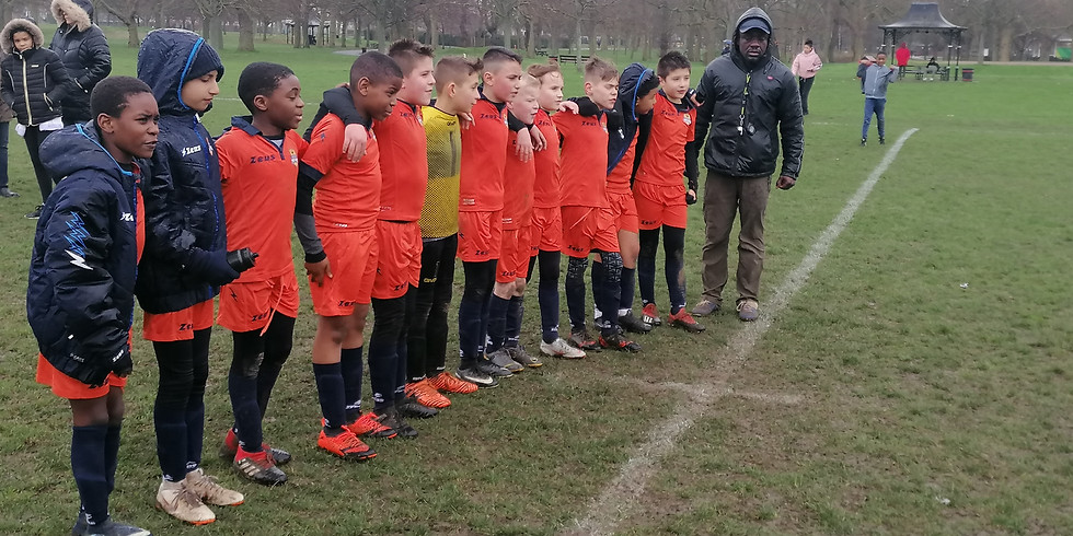 Away Game - Buckhurst Hill Black vs Newham Panthers FC