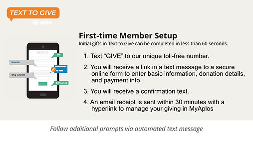 Nonprofit Text to Give Presentation Temp