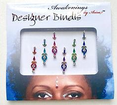Awakenings By Aziza Desinger Bindis Multi Color Float