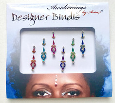 Awakenings By Aziza Desinger Bindis Multi Color Float
