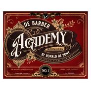 Logo de barber academy