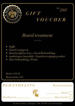 Beard Voucher