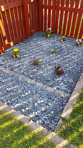 Buttermere Slate Chippings Supply and Fit