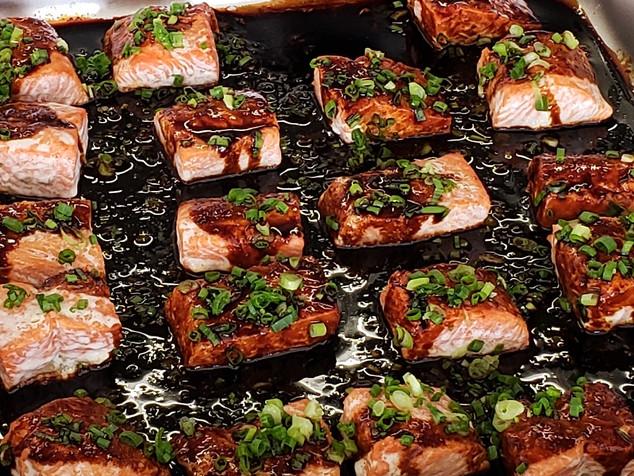 中式三文魚柳