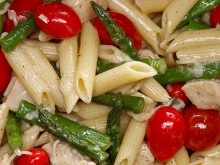 Chicken and Asparagus Penne