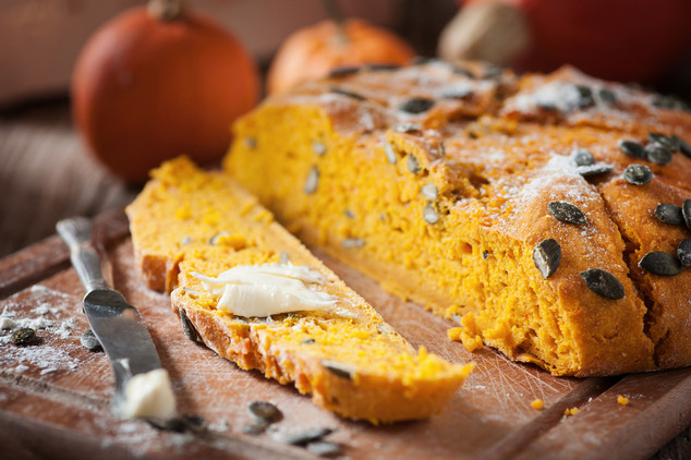Pumpkin Spiced Superfruit Bread