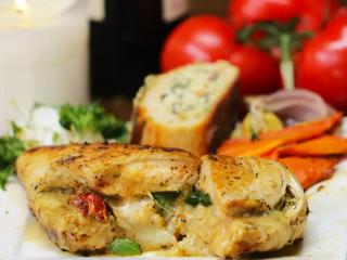 Pesto-Stuffed Chicken
