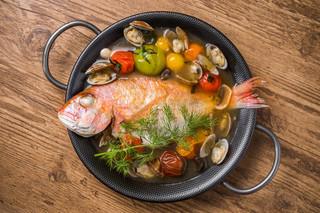 意式水煮鯛魚
