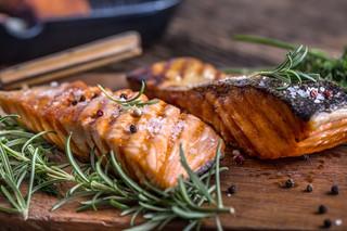 Salmon with Honey Soy Marinade