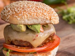 Southwestern-Style Turkey Burgers