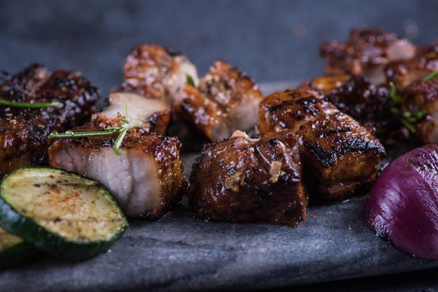 香烤蜜汁豬腩肉