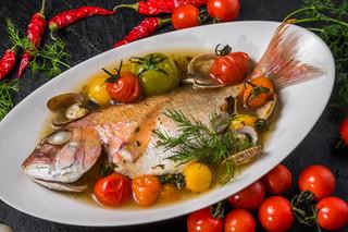 意式水煮原條鯛魚