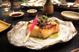味噌黑鱈魚配香焗南瓜