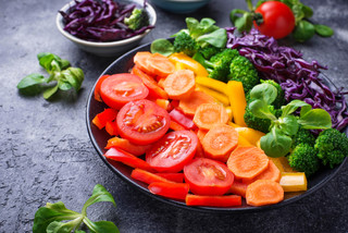 'Eat a rainbow!' Boosting your immune system during the winter months
