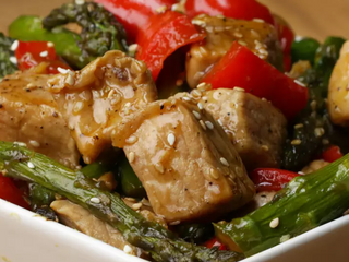 Pork and Asparagus Stir-Fry
