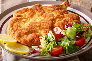 Cotoletta a la Milanaise with Side Salad