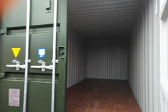 shiping container storage unit