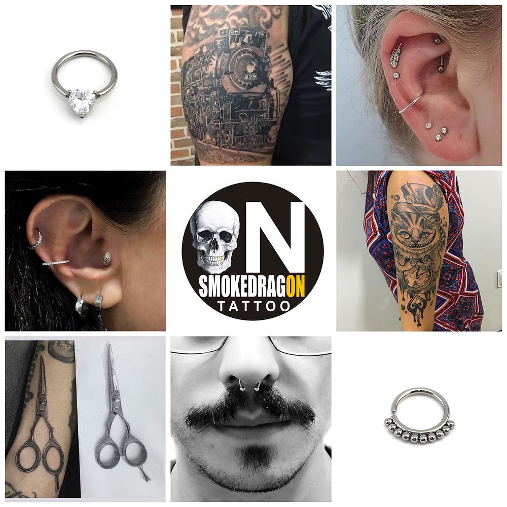 Esse estúdio de tatuagem no Rio de Janeiro e incrível e tem um excelente atendimento e com uma boa localização , nos adoramos esse estúdio de tattoo.