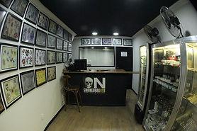 Recepção do studio