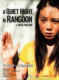 A Quiet Night in Rangoon by Katie Pollock