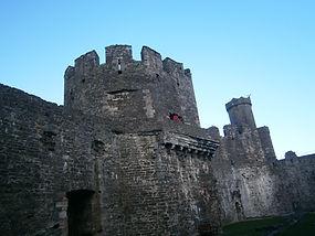 круглые башни в концентрических замках