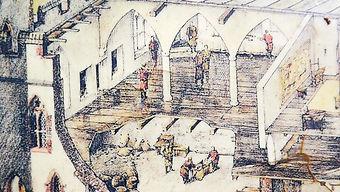 Внутренне устройство средневекового замка