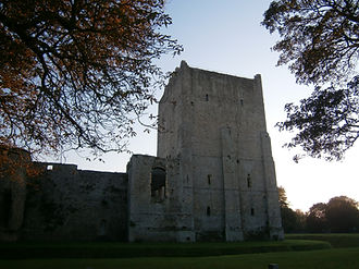 норманнские замки, донжон, keep