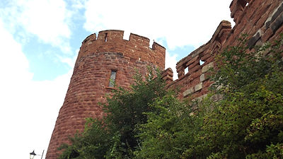 Шрусбери, норманнский замок, Роджер де Монтгомери