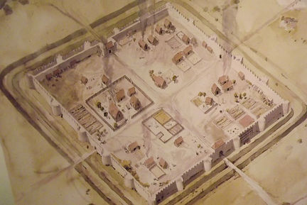 англо-саксы занимали пустующие римские форты