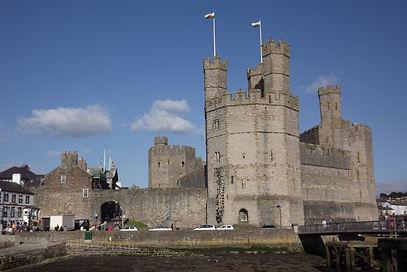 замки Железного кольца Уэльса