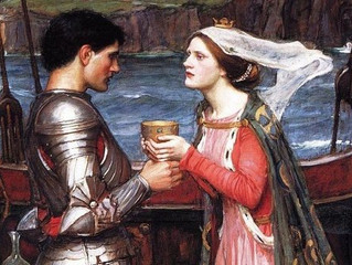 Трагическая любовь в стенах Тинтаджела
