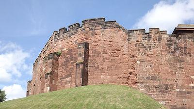 Честерский замок, построенный Вильгельмом Завоевателем