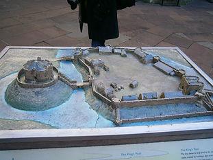 средневековый замок, мотт-и-бейли