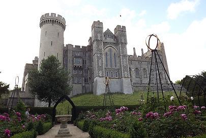 замок в графстве Сассекс,  резиденция герцогов Норфолк