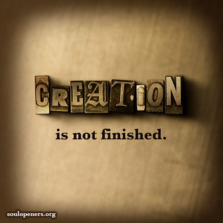 Creation not finished.