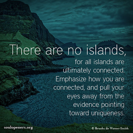 There are no islands.