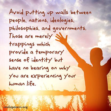 Avoid walls.