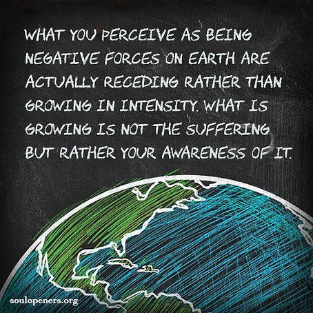 Negative forces receding.