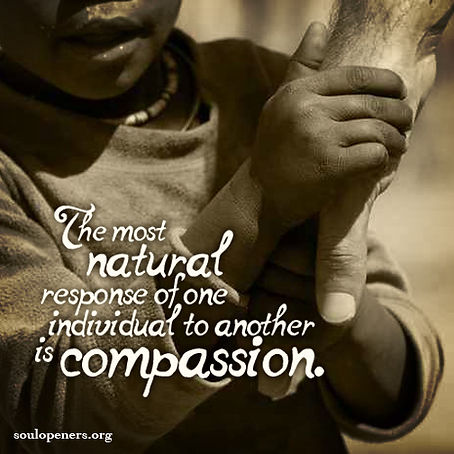 Compassion is natural.
