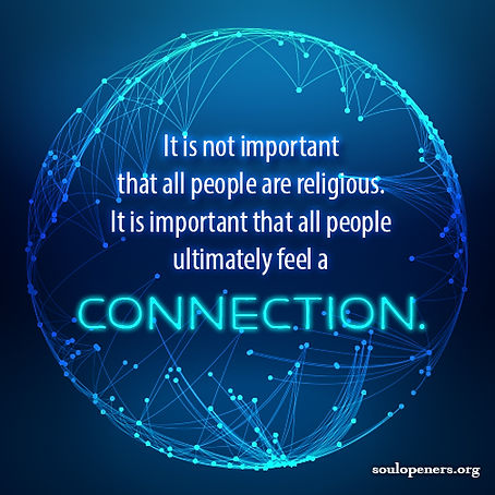Religion/connection.