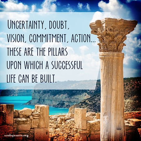 Pillars for successful life.