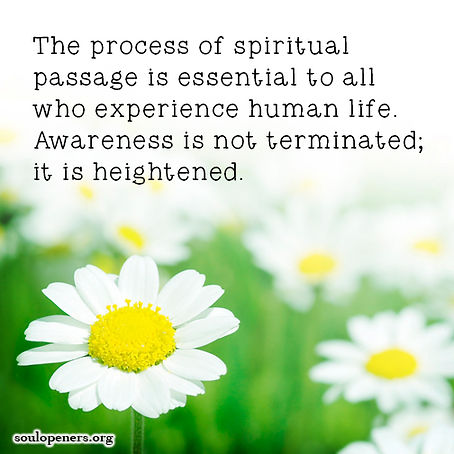 Awareness is heightened after death.