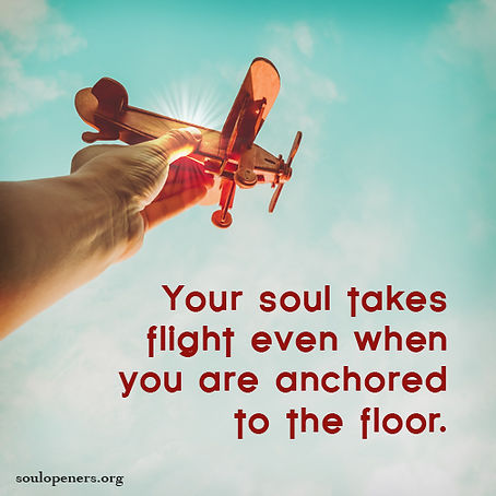 Soul takes flight.