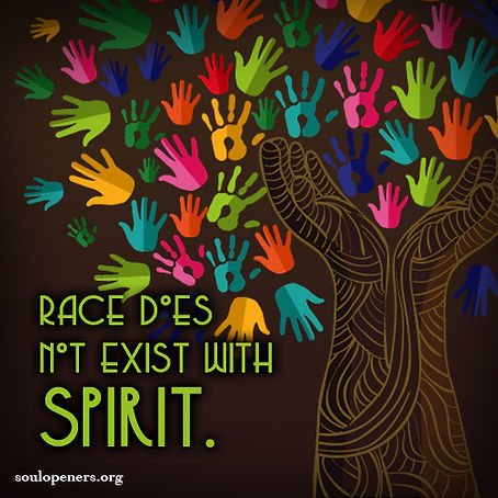 Race does not exist with spirit.