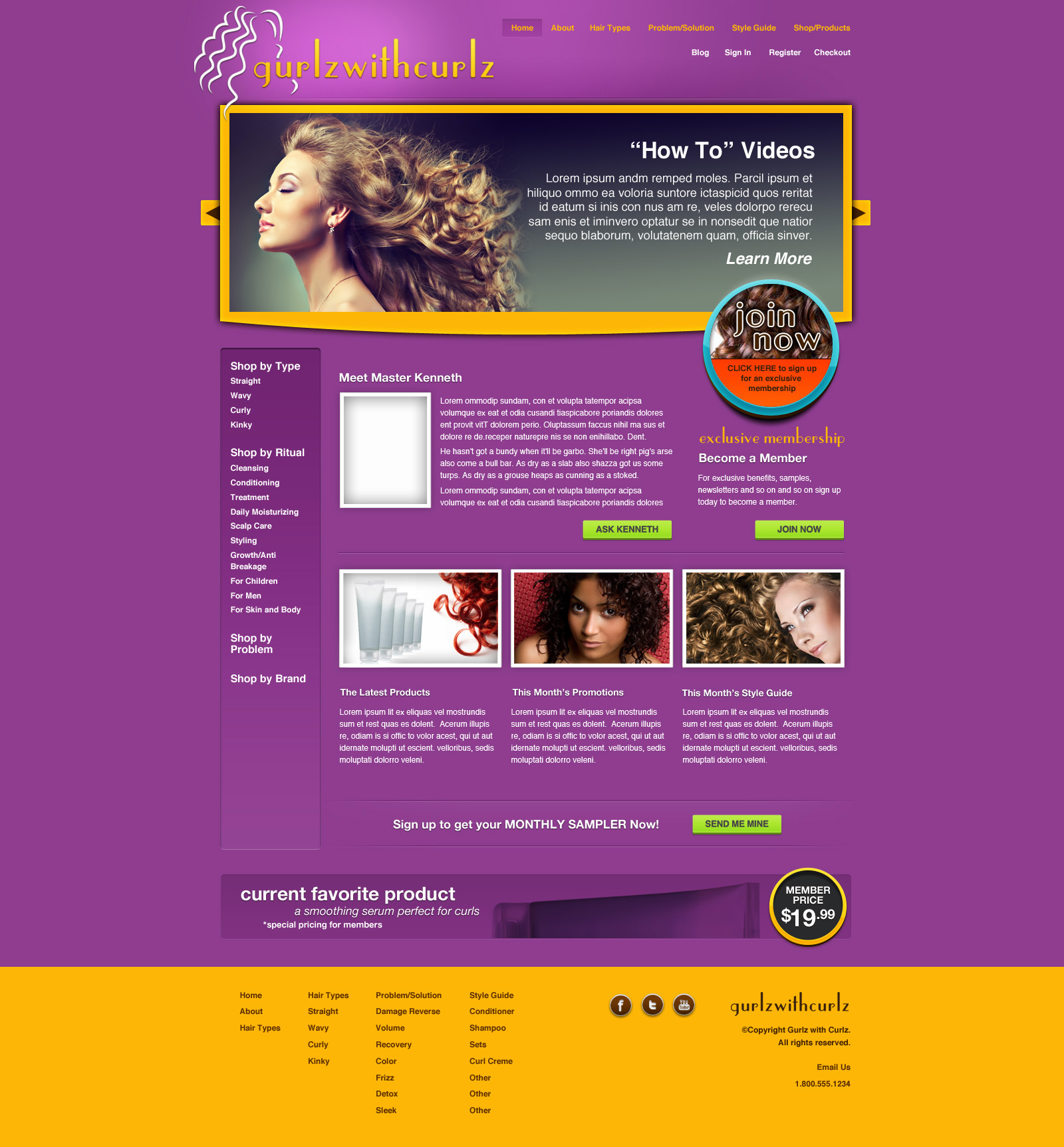 Hair Website