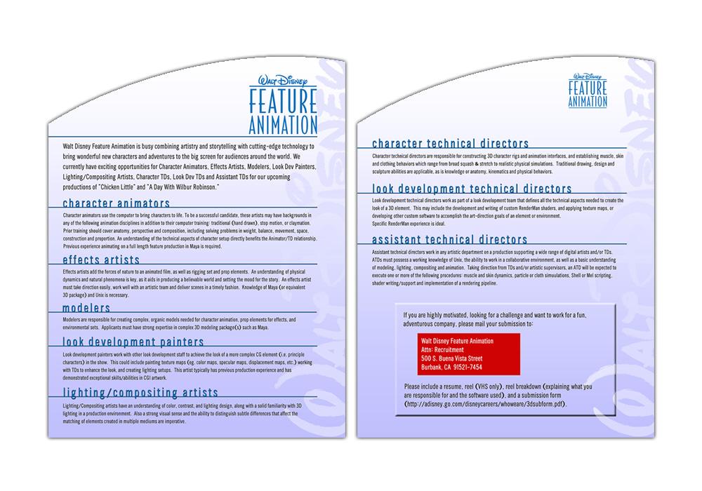 Recruitment Flyer