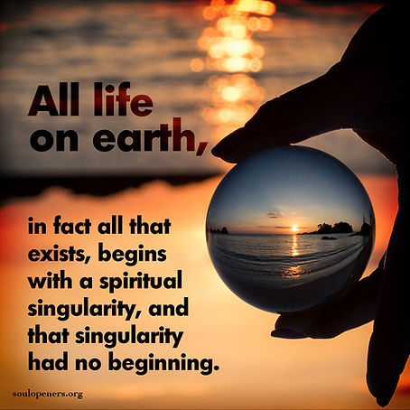 All began with singularity.