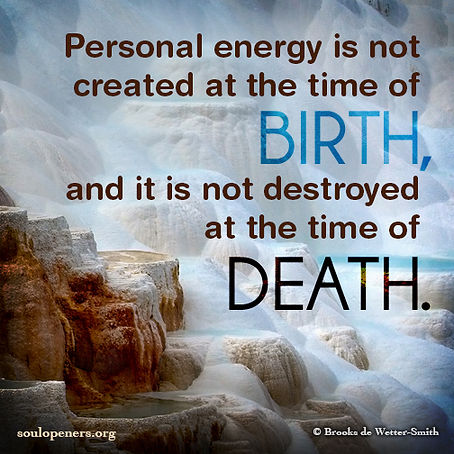 Energy not created nor destroyed.