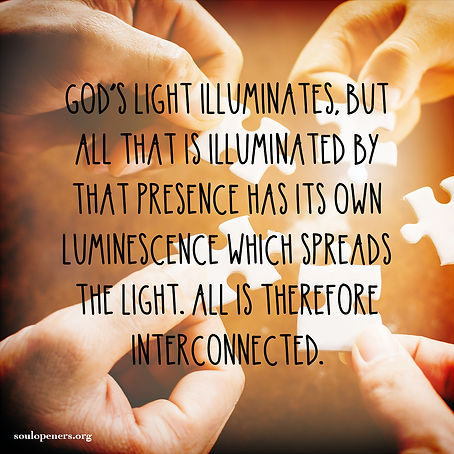 All light is interconnected.