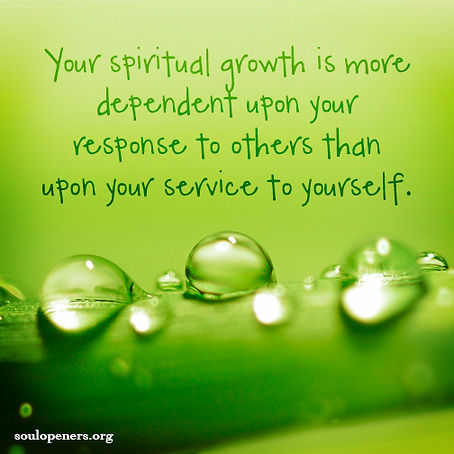 Growth depends on service.